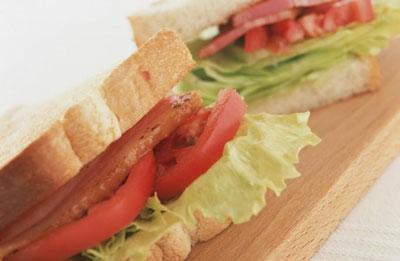 آموزش پخت ساندویچ گرم