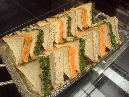 آموزش پخت مینی ساندویچ مرغ