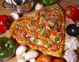 چگونه پیتزا قلبی درست کنیم؟