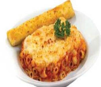 طرز تهیه پیتزای ماکارونی همراه با سبزیجات