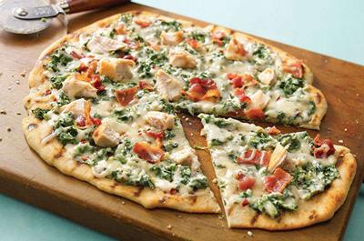آموزش درست کردن پیتزا سبز با ماهی