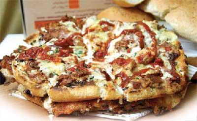 آموزش درست کردن پیتزا دو ذوقی