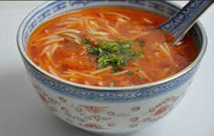 طرز تهیه سوپ ماکارونی با دل و جگر
